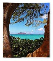Kailua Fleece Blanket