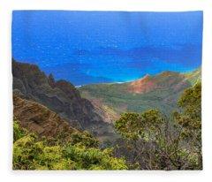 Kalalau Inspiration Fleece Blanket