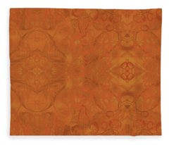 Kaleid Abstract Moroccan Fleece Blanket
