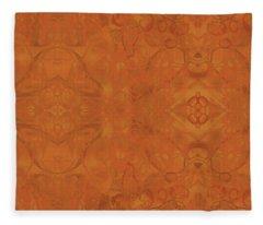 Kaleid Abstract Moroccan Fleece Blanket
