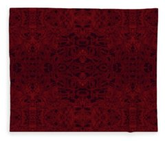 Kaleid Abstract Reverence Fleece Blanket