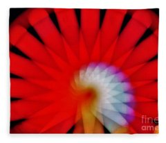Kaleidoscope6 Fleece Blanket