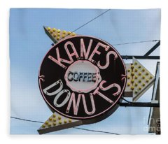 Kanes Donuts Fleece Blanket