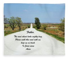 Kansas Road Fleece Blanket