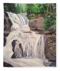 Katahdin Falls Fleece Blanket
