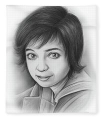 Kate Micucci Fleece Blanket