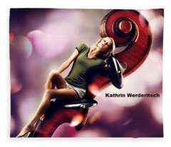 Kathrin Werderitsch Fleece Blanket