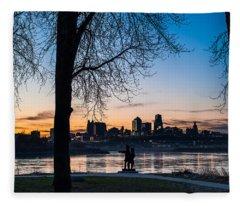 Kaw Point Park Fleece Blanket