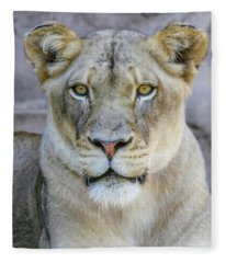 Kaya Portrait Fleece Blanket