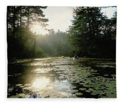 Kayaking Fleece Blanket