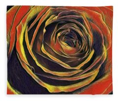 Kayla Rose Fleece Blanket