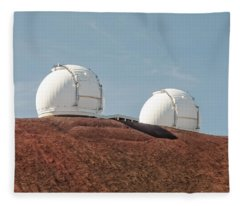 Keck 1 And Keck 2 Fleece Blanket