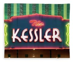 Kessler Theater 042817 Fleece Blanket