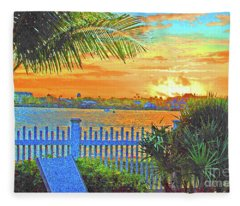 Key West Life Style Fleece Blanket