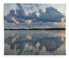 Key West Sunrise 7 Fleece Blanket