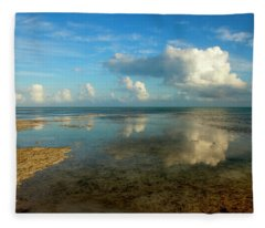 Keys Reflections Fleece Blanket
