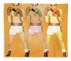 Kid Galahad Fleece Blanket