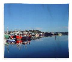 Killeybeggs Harbor Fleece Blanket