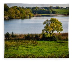 Killone Lake In County Clare, Ireland Fleece Blanket