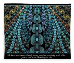 Kind And Compassionate Fleece Blanket
