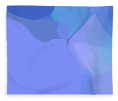 Kind Of Blue Fleece Blanket