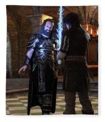 King Edward Fleece Blanket