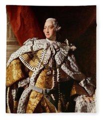 King George IIi Fleece Blanket