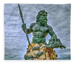 King Neptune Fleece Blanket