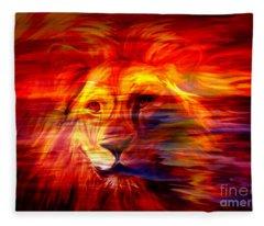 King Of Glory Fleece Blanket