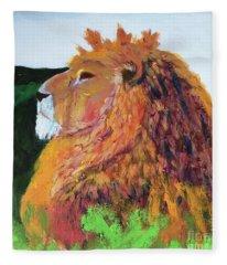 King Of Hearts Fleece Blanket