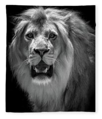 King Of The Jungle Fleece Blanket