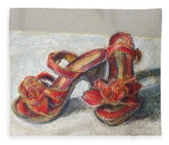 Kingdom Shoes Fleece Blanket