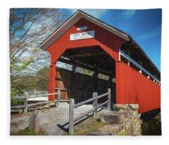 Kings Bridge Fleece Blanket