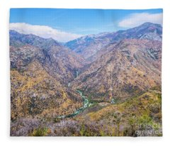King's Canyon  Fleece Blanket