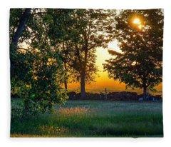 Kingsbury Sunset Fleece Blanket