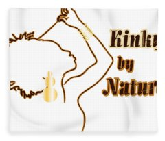 Kinky By Nature Fleece Blanket