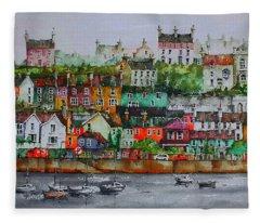 Kinsale Panorama, West Cork Fleece Blanket
