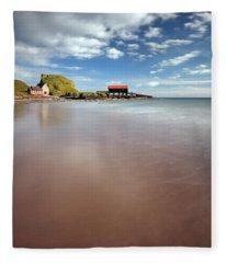 Kintyre Beach Fleece Blanket