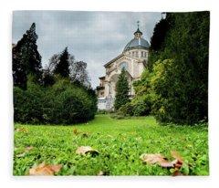 Kirche Enge Fleece Blanket