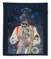 American History. .  Rahsaan  Roland Kirk  Fleece Blanket