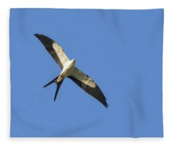 Kite With Katch Fleece Blanket