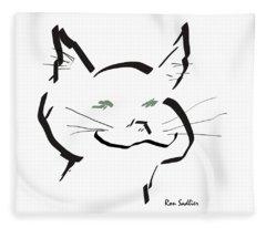 Kitty Fleece Blanket