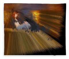 Kiwi Camel Enlightenment Fleece Blanket