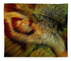 Kiwi Gold Freedom Fleece Blanket
