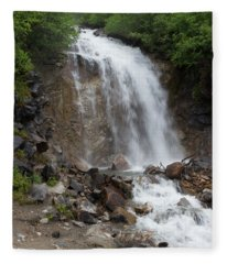 Klondike Waterfall Fleece Blanket