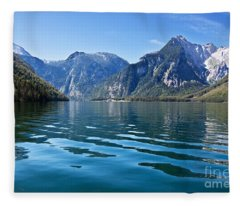 Koenigssee Fleece Blanket