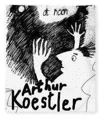 Koestler Darkness At Noon Poster  Fleece Blanket