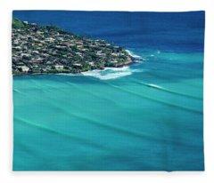 Koko Swell Lines Fleece Blanket
