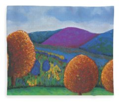 Kripalu Autumn Fleece Blanket