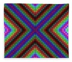 Krisskross Fleece Blanket